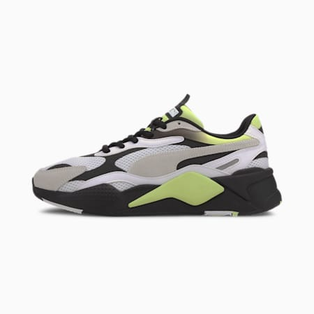 RS-X Neo Fade Shoes, P White-Fizzy Yellow-P Black, small-IND