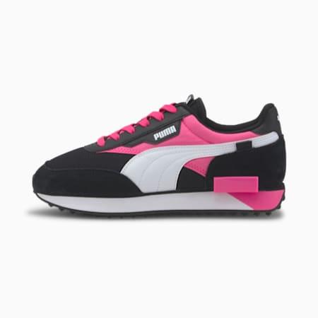 Future Rider Neon Play sneakers, Puma Black-Luminous Pink, small