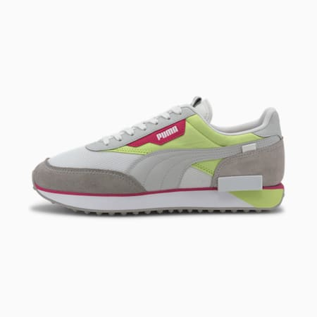 Zapatillas Future Rider Neon Play, Gray Violet-Sharp Green, small