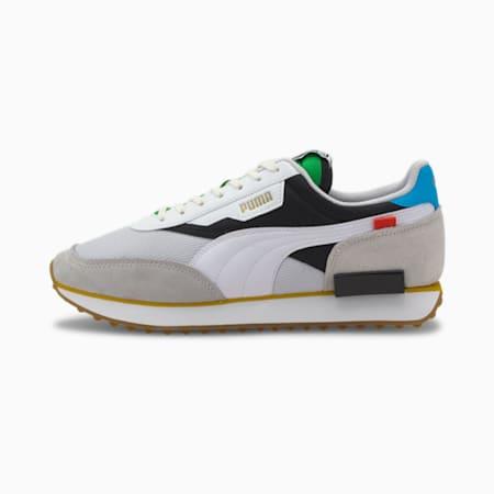 Future Rider The Unity Collection Sneakers, Puma White-Puma Black, small-IND
