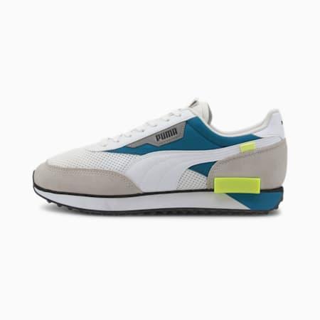 Future Rider Galaxy Sneakers, Puma White-Digi-blue, small