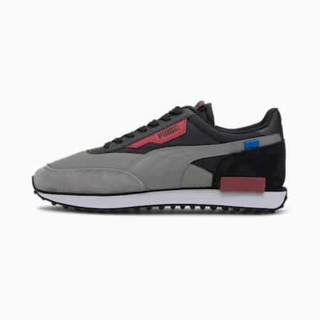 Future Rider New Tones Sneaker, Ultra Gray-Puma Black, small