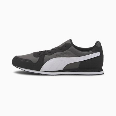 Cabana Run Men's Sneakers, Dark Shadow-Black-White, small