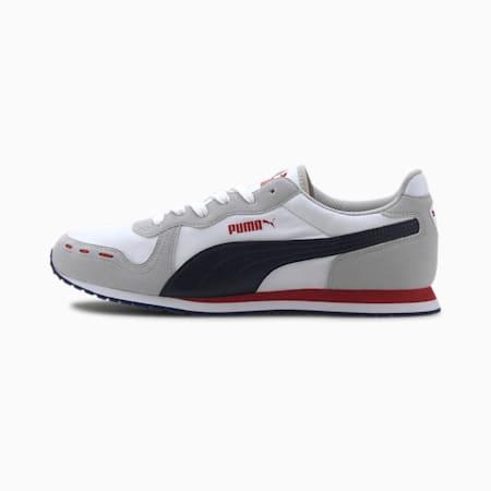 Cabana Run Men's Sneakers, White-Gray Violet-Peacoat, small