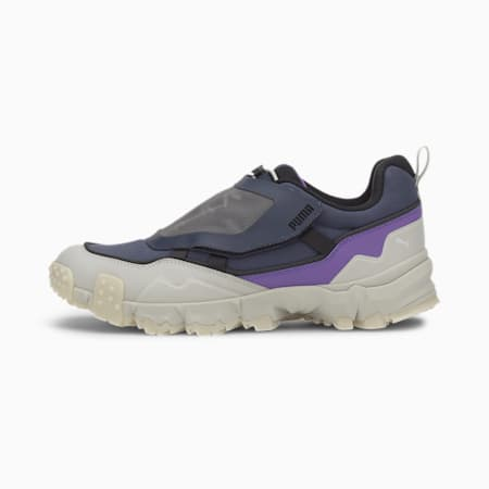 Trailfox Overland Transparent Men's Sneakers, Peacoat-Gray Violet, small