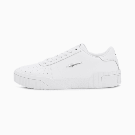 Cali Twist Women's Trainers, Puma White-Puma White, small