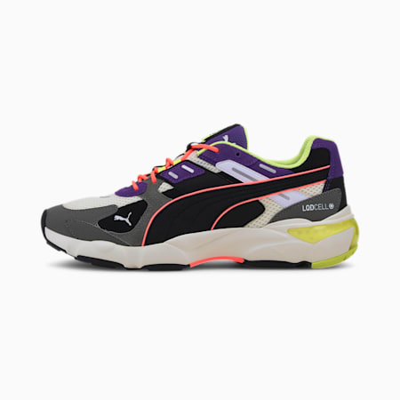 LQDCELL Extol Archive Trainers, Whisper White-Ultra Violet, small