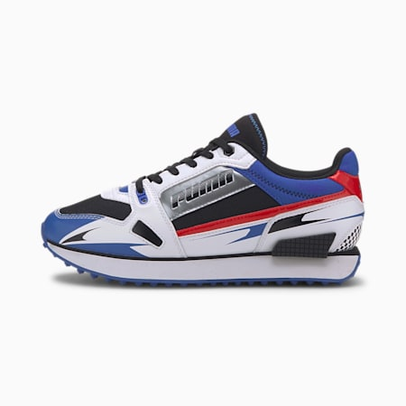 Mile Rider Sunny Getaway Damen Sneaker, Puma White-Dazzling Blue, small