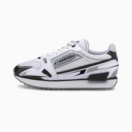 Mile Rider Sunny Getaway Women's Trainers, Puma White-Puma Black, small