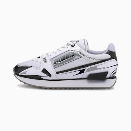 Mile Rider Sunny Getaway Women's Sneakers, Puma White-Puma Black, small-GBR