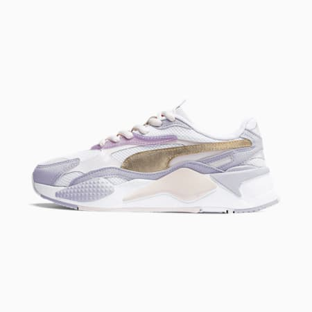RS-X C&S Women's Trainers, Rosewater-Puma Team Gold, small