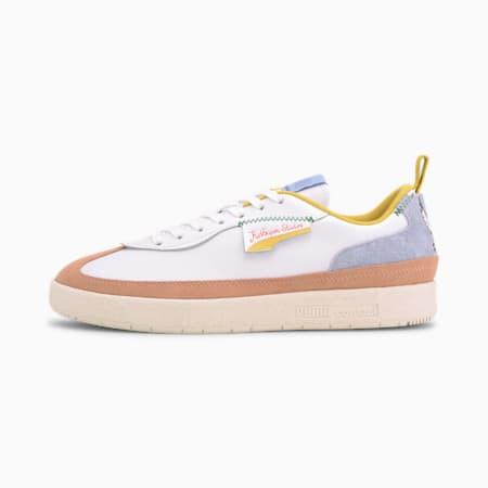 PUMA x KIDSUPER Oslo City Shoes, Puma White-Peach Beige, small-IND