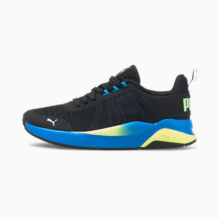 Anzarun Interest Mesh Sneakers JR, PB-Nrgy Blue-Fizzy Yellow, small