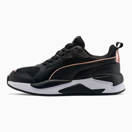 X-RAY Metallic Shine Women's Sneakers, Puma Black-Black-Rose Gold, small