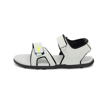 Jazz X IDP Sandals, Quarry-Puma Black-Limepunch, small-IND