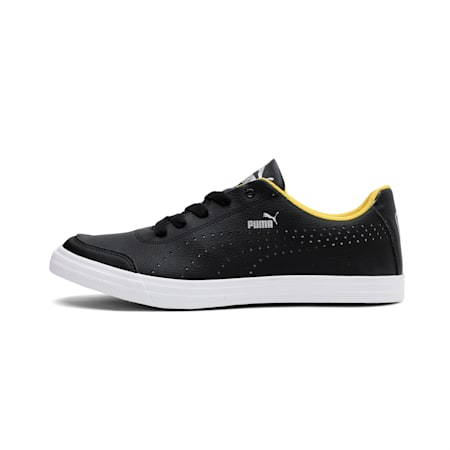 Court Maze Vulc SL V4 IDP Sneakers, Puma Black-Sulphur, small-IND