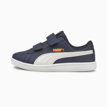 Zapatos PUMA UP V para niño pequeño, Peacoat-Nimbus Cloud-Vibrant Orange-Puma White, pequeño