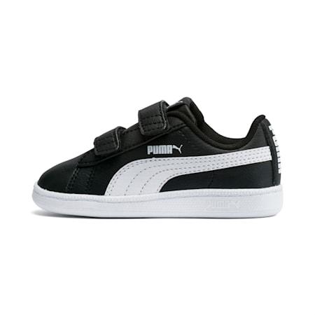 Zapatos PUMA UP V para bebé, Puma Black-Puma White, pequeño