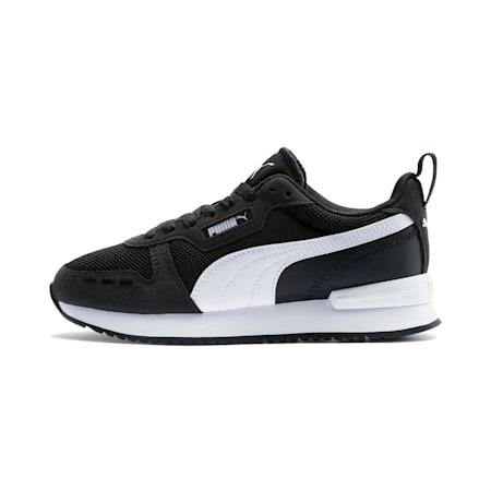 R78 Youth Sneaker, Puma Black-Puma White, small