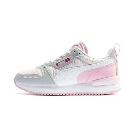 R78 Youth Trainers, Rosewater-Gray -White, small