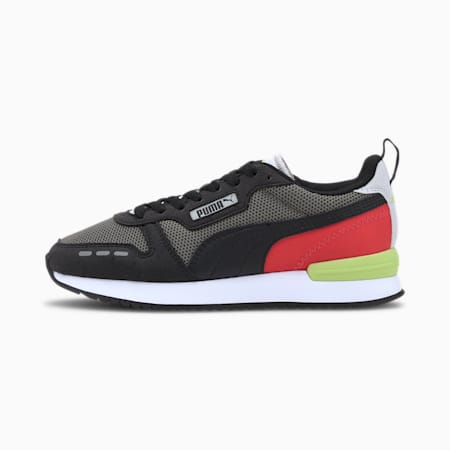 R78 Youth Trainers, Ultra Gray-Puma Black, small