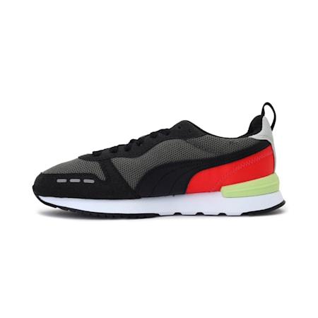 PUMA R78 Kid's Sneakers, Ultra Gray-Puma Black, small-IND