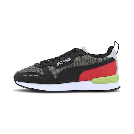 PUMA R78 Sneakers JR, Ultra Gray-Puma Black, small