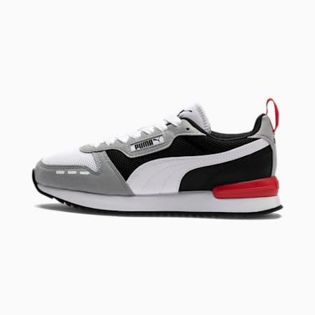 R78 sportschoenen voor jongeren, Quarry-Puma White-Puma Black, small