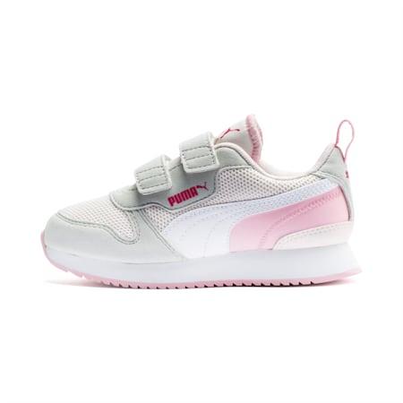 R78 sportschoenen voor kinderen, Rosewater-Gray -White, small