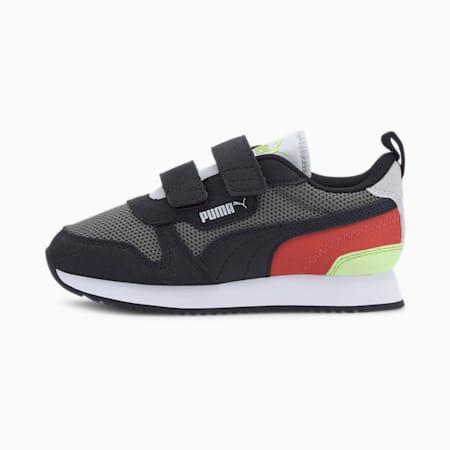 PUMA R78 Little Kids' Shoes, Ultra Gray-Puma Black, small