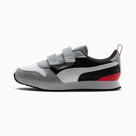 R78 sportschoenen voor kinderen, Quarry-Puma White-Puma Black, small