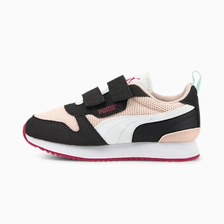 R78 Kids' Trainers, Lotus-Puma White-Puma Black, small