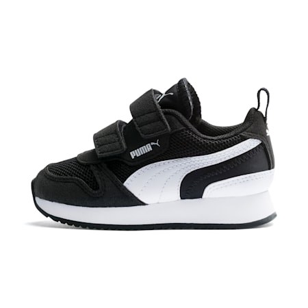 R78 Babies' Trainers, Puma Black-Puma White, small