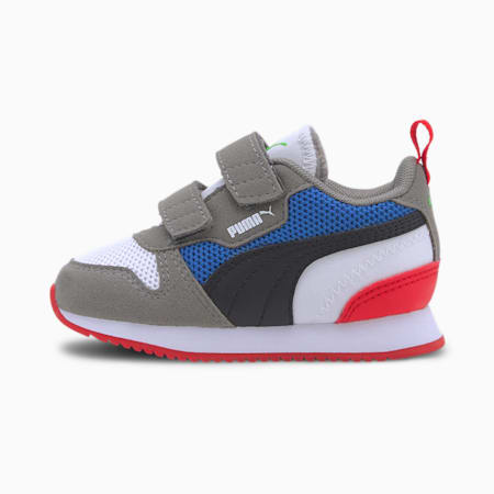 PUMA R78 Toddler Shoes, White-Black-Ultra Gray, small
