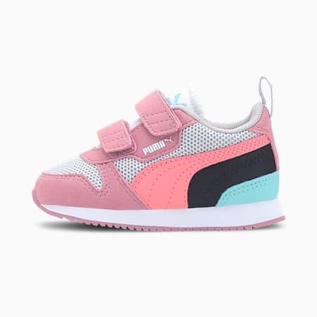 Buty sportowe R78 dla małych dzieci, Gray -Salmon Rose-Foxglove, small
