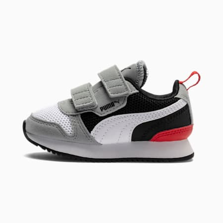 R78 sportschoenen voor baby's, Quarry-Puma White-Puma Black, small