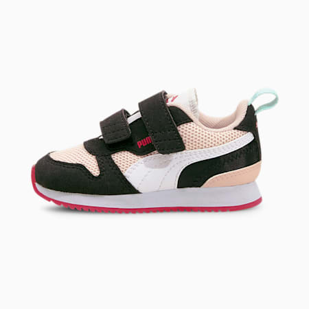 Zapatillas para bebés R78, Lotus-Puma White-Puma Black, small