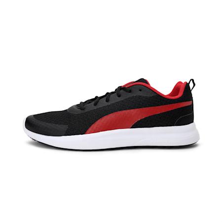 Propel 3D MU IDP Men's Running Shoe, Puma Black-Barbados Cherry, small-IND