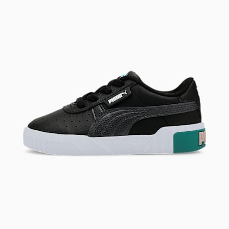 Zapatos Calipara bebés, Puma Black-Viridian Green, pequeño