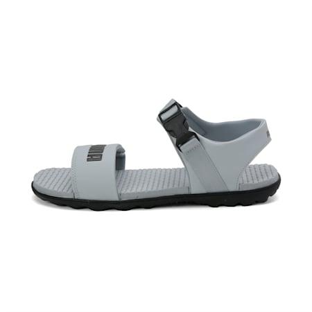 Outstretch Men's Sports Sandals, Quarry-Puma Black, small-IND