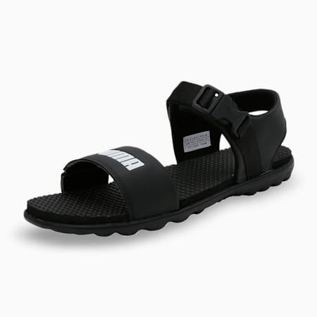 Outstretch Men's Sandals, Puma Black-Puma White, small-IND