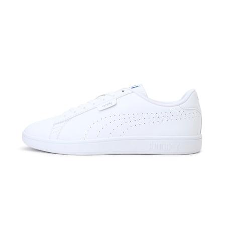 PUMA x one8 Virat Kohli Smash v2 SL Sneakers, Puma White-White-Palace Blue, small-IND