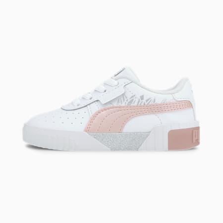 Cali Arctic Toddler Shoes, Puma White-Peachskin, small