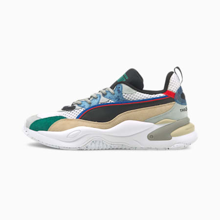 Scarpe da ginnastica PUMA x THE HUNDREDS RS-2K HF, White Asparagus-Puma Black, small