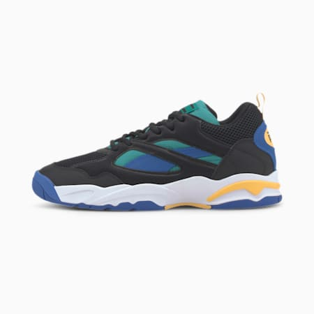 PUMA x THE HUNDREDS Performer HF Sneaker, Puma Black-Olympian Blue, small