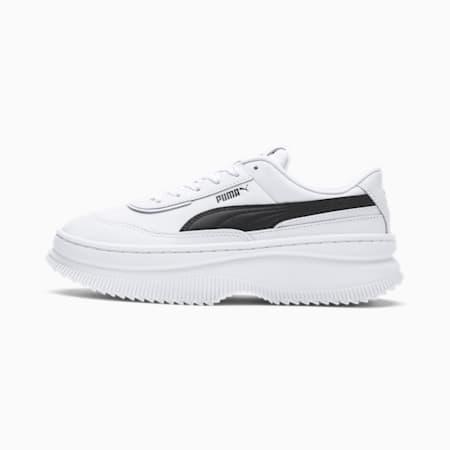 Zapatillas para mujer Deva Leather, Puma White-Puma Black, small
