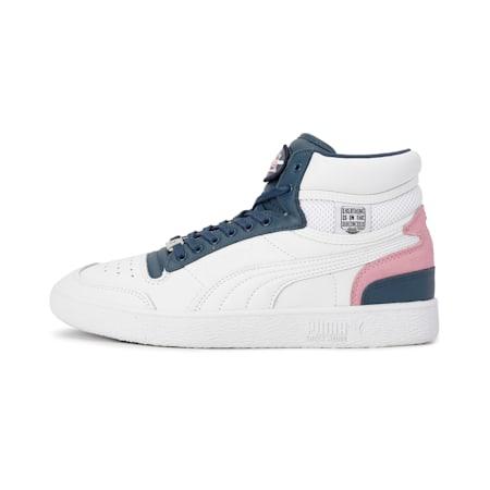 PUMA x VON DUTCH Ralph Sampson Mid Sneakers, Puma White-Dark Denim, small-IND