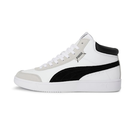 Court Legend Collar SoftFoam+ Shoes, Puma White-Puma Black, small-IND