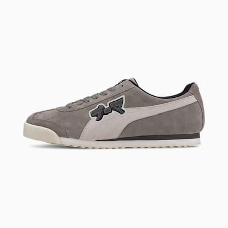 Roma Classic Japanorama Men's Sneakers, Steel Gray-Whisper White, small