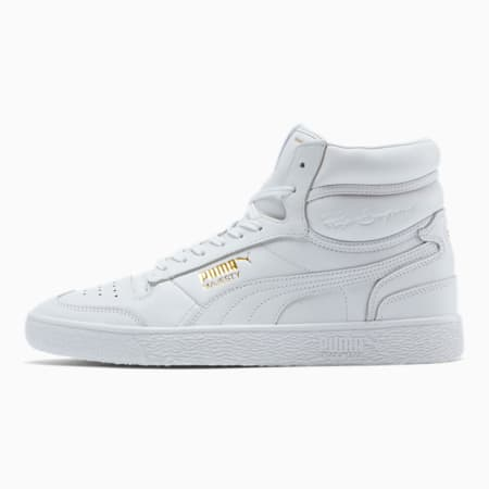 Ralph Sampson White Mid Men's Sneakers, Puma White, small
